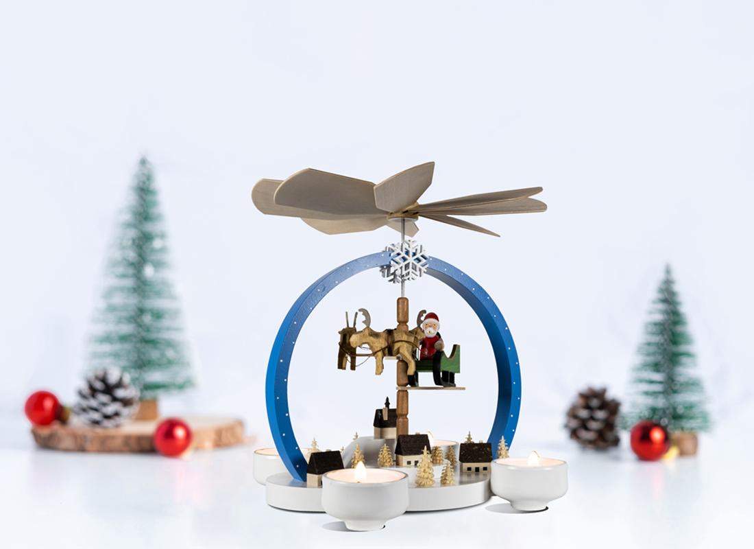 """Christmas Pyramid  """"Christmas Magic"""" colorful"""